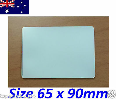 10 x LAMINATING POUCHES SHEETS BUSINESS ID CARD SIZE 65mm x 90mm 150 MICRON
