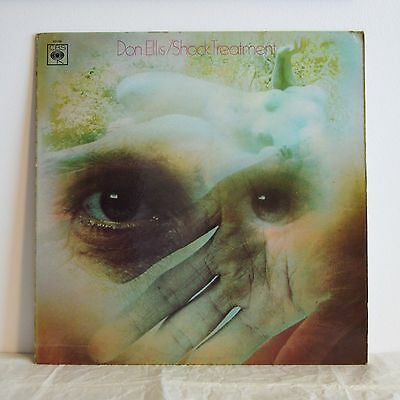 DON ELLIS Shock Treatment UK CBS LP '68 Funky psych jazz