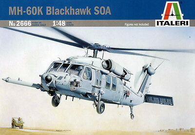 Italeri MH-60K Blackhawk SOA 1:48 Model Kit