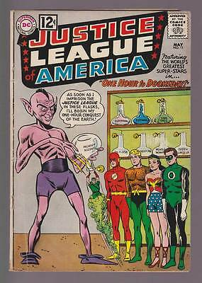 Justice League of America # 11  One Hour to Doomsday !  grade 3.5 scarce book !