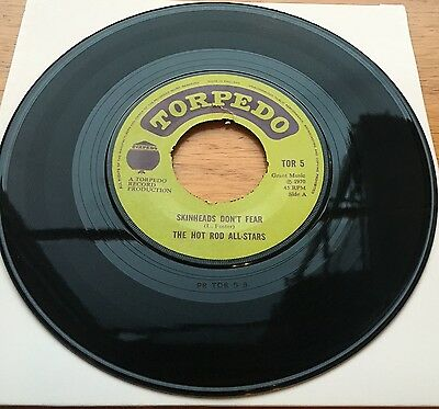 The Hot Rod All Stars - Skinheads Don't Fear (Ska, Reggae, Skin, Mod) listen-VG+