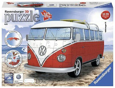 Puzzle Ravensburger Italy 12516 6 - Puzzle 3D Camper Volkswagen T1