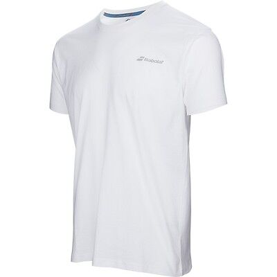 Babolat T-Shirt Core Homme  Blanc Taille  M !