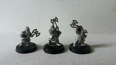 games workshop Lord of the rings metal dwarf khazad guard lot1