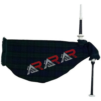 New Goose Bagpipe Brand Black Watch Imitation Ivory Mount Rosewood Black Color