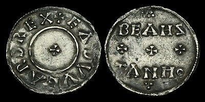 SA-PTBF - ANGLO-SAXON - EDWARD THE ELDER - Two Line Type Penny, ca.839-43AD.