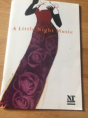 JUDI DENCH, A LITTLE NIGHT MUSIC, Olivier National Theatre Programme 1996