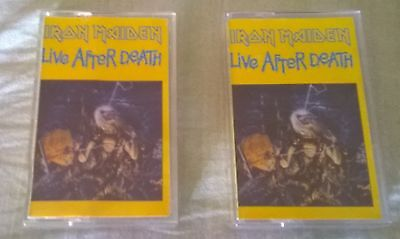 """Iron Maiden """" Live After Death ( The World Slavery Tour"""") 2 Mc"""