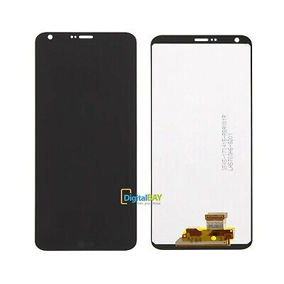 Lg Display Schermo Originale Lcd Touch + Front Cover Nero Per Lg G6 H870