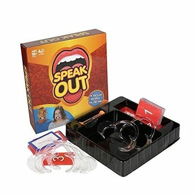 Halloween New Speak Out Board Family Party Game Mouthguard Challenge Toys Gifts