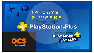 Playstation Plus - 14 Days Trial Account - PS4/PS3/VITA
