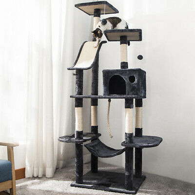 Cat Kitten Tree Climbing Scratching Post Sisal Cat Scratcher Activity Centre