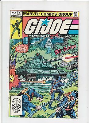 G.I. Joe a Real American Hero #5 (Marvel) VF/NM Canadian Newsstand Price Variant