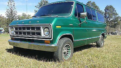 1978 Ford E150 Van Panel Van Camper Bike Transporter Band rig Bedford F150 F250