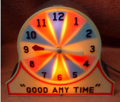 Good Any Time  Mystery Miracle Clock Gambling Trade Stimulator - Working-Clean!