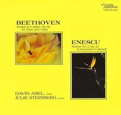 David Abel & Julie Steinberg - Beethoven Sonata In G Minor & Enescu Sonata No.3