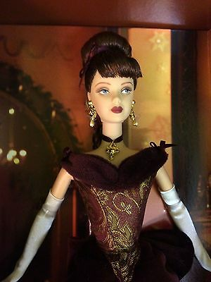 Gold label, Victorian Holiday barbie NRFB