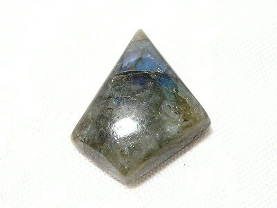 "Labradorite Gemstone Freeform Cabochon 2.6 X 3.2Cm, 6.6Gm ""new"" Auz Seller C137"