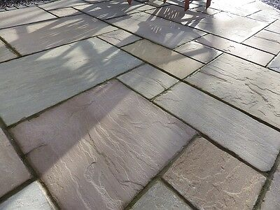 Raj Green 560 series patio packs-Paving -indian Sandstone paving -Clearance😍✔✔