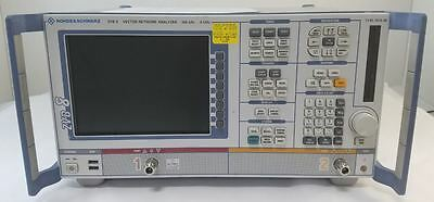 Rohde & Schwarz ZVB8 Vector Network Analyzer, 2 Ports, 300 kHz to 8 GHz