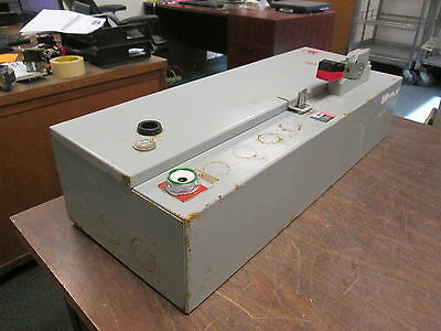 Cutler-Hammer Non-Fusible Size 1 Combination ECN1801BQA 120V Coil 3Ph 3P Used