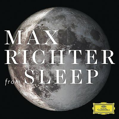 Max Richter From Sleep New Sealed Double 180G Transparent Vinyl Lp In Stock