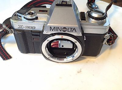 Minolta X-300 35mm SLR Film Camera Body Only