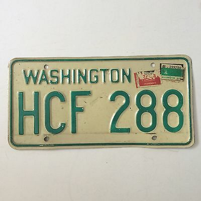 Washington 1973 Old License Plate Garage Car Tag 1968 Base Man Cave Decor Auto