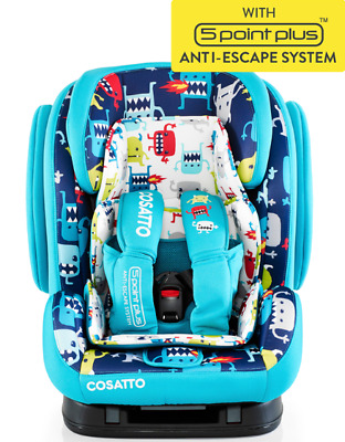 Brand new in box Cosatto Hug group 123 isofix car seat in Cuddle monster 2