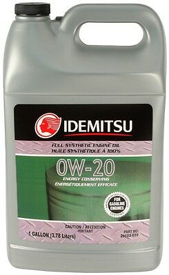 Idemitsu SAE 0w20 Full Synthetic Engine Oil