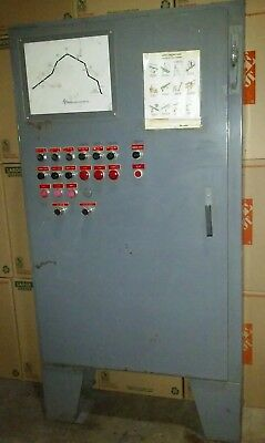 Conveyor System Control Cabinet with Motor Starters, Hoffman Box with Disconnect