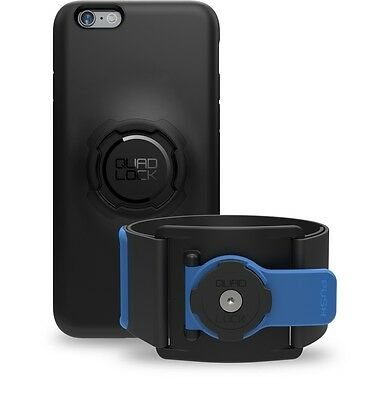 Quad Lock Sports Run / Gym Kit for iPhone 7+ Plus = Phone Case + Sports Armband
