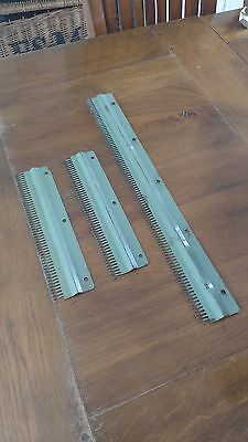 Brother Knitting Machines Parts 4.5Mm Ribber Cast On Comb Set X 3