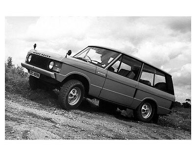 1977 Leyland Range Rover Factory Photo ub1805