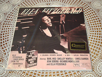 ELLA FITZGERALD Let No Man Write My Epitaph Audiophile VERVE 2 LP Limited SEALED