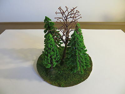WARGAME TERRAIN Lot 2 Green Forest Wood w/ Tall Trees NEW Scenery 28mm WFB AoS
