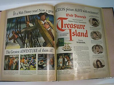 Vintage Movie Ads Clippings Personal Scrapbook Estate Find Disney~Wizard of Oz