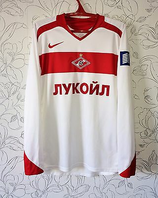 Match worn issue shirt camiseta jersey maglia maillot Spartak Moscow Russia