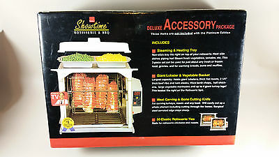 Showtime rotisserie deluxe accessory package NOS