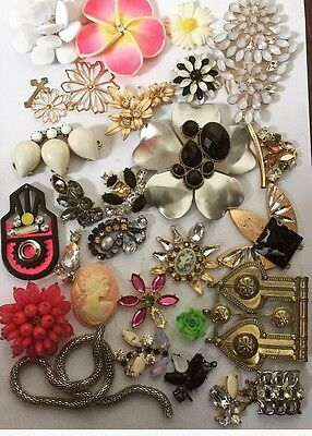 Broken Jewellery Harvest Spares Repairs Crafts Vintage Style Up Cycling Bridal