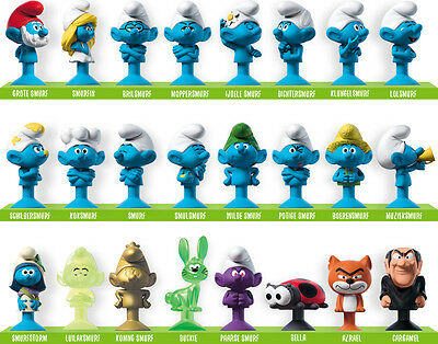*NEW* 24 different stikeez Smurfs + 2 OVP limited editions - RARE 2017