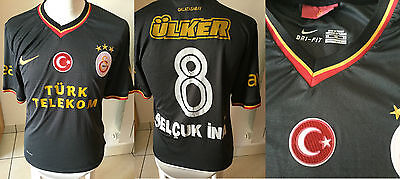 Turchia Galatasaray Away 8 Selcuk Ina Shirt Jersey Maglia Calcio Camiseta Shirt