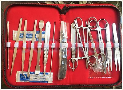 DISSECTING KITS SURGICAL 19 PCs,-STUDENT DISSECTING KIT,