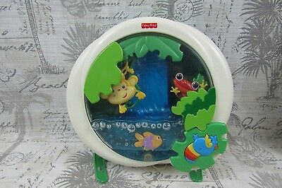 Fisher-Price Baby Rainforest Peek-a-Boo Waterfall Soother For Crib