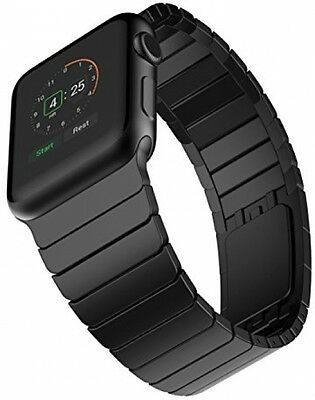 Elobeth Apple Watch Band Stainless Steel Strap Link Bracelet Replacement NEW