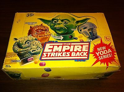 1980 Topps Star Wars The Empire Strikes Back Yoda Series Candy Containers Unused