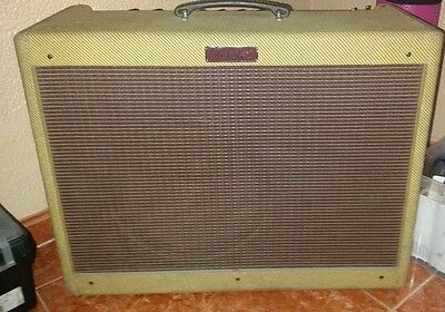 Fender BLUES DELUXE original ´93 amplificador de guitarra + flight-case