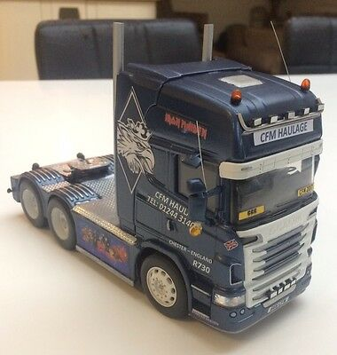 Welly Scania V8 R730 1/32 Cfm Haulage Custom Truck Britains Scale