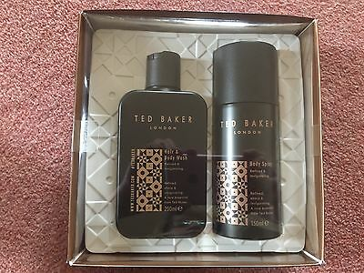 Mens Ted baker Bayswater Body Wash Gift Set