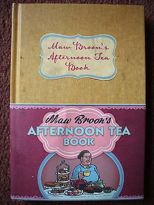 The Maw Broons Afternoon Tea Book Recipes Etc Hb Dj  Vgc  2013